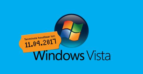 Windows Vista stopt op 11 april 2017